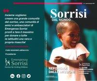 """Gn Media pubblica la nuova rivista """"Sorrisi dal Mondo"""" di Emergenza Sorrisi ONLUS (luglio 20"""
