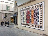 Nuovo murales dell'artista internazionale UNO a Terni per Gn Media (maggio 2021)