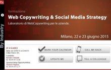 Corso di Formazione WebCopywriting e Social Media Strategy per aziende (22-23 giugno 2015)