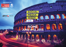 Social Media Week Rome 2015 (8 - 12 giugno)